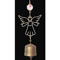 Remembrance Angel Suncatcher Bell Wind Chime