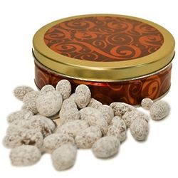 Toffee Almonds Holiday Tin