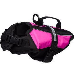 Pink Dog Flotation Vest