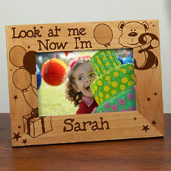Children's Look at Me Birthday Frame