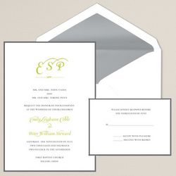 Sincerely Yours Wedding Invitations
