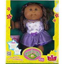 Cabbage Patch Kids African American Brunette Princess Doll