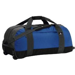 Large No Matter What Rolling Duffel Bag