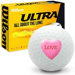 Candy Heart Love Ultimate Distance Golf Balls