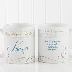 Cup of Inspiration Personalized Mug