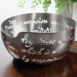 Laser Cut Confucius Bowl