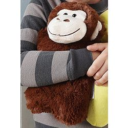 Warm Snuggles Monkey Stuffed Animal