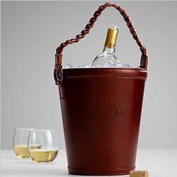 Leather Wine Bucket