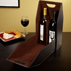 Two in One Wine Bottle Carrier