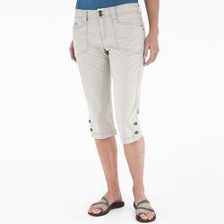 Kick It Canvas Capri Pants