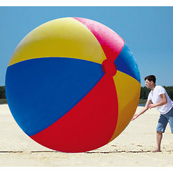 Giant 10' Inflatable Beach Ball