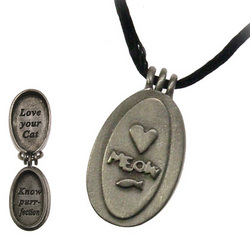 Love Your Cat Locket Necklace