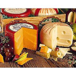 2 Lb. Cheddar Cheese Wheel