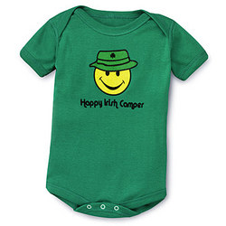 Happy Irish Camper Romper