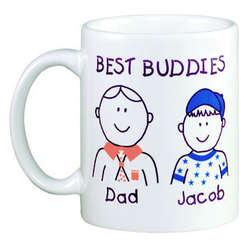 Personalized Parent/Grandparent Icon Mug
