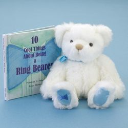Teddy Bear and Keepsake Book for your Ring Bearer