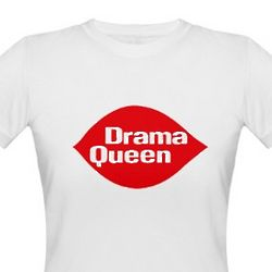 Drama Queen Organic Cotton T-Shirt
