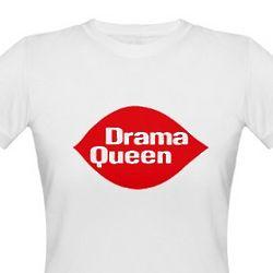 Drama Queen Organic Cotton T-Shirt