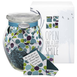 'Early Morning' Jar of Personalized Messages in Mini Envelopes