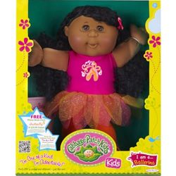 Cabbage Patch Kids African American Brunette Ballet Doll