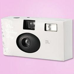 24 Exposure Disposable Wedding Day Camera