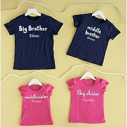 Personalized Sibling Apparel Collection