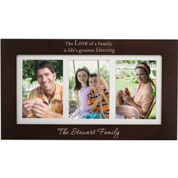 Life's Greatest Blessing Personalized 5x7 Family Picture Frame