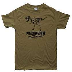 Paleontologist in Training Dinosaur T-Shirt