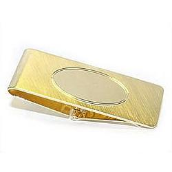Hindged Gold Money Clip