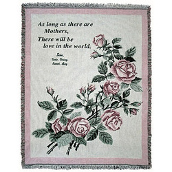 Personalized Mother Love Throw