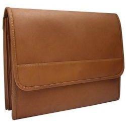 Leather Underarm Envelope Portfolio Briefcase