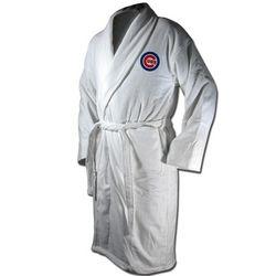 Chicago Cubs Terrycloth Logo Bathrobe