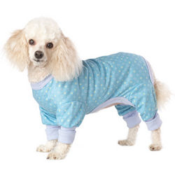 Jersey Blue Dot Pajamas for Dogs