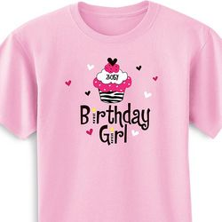 Personalized Birthday Girl Toddler & Youth T-Shirt