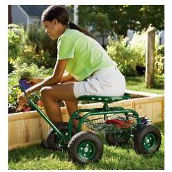 Rolling Scoot-N-Do Garden Seat