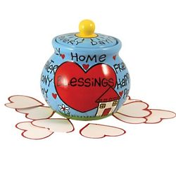 Home Blessings Cookie Jar