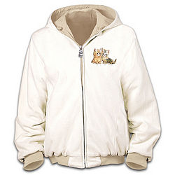 Purr-fect Companion Women's Reversible Jacket