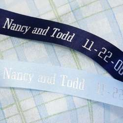 Personalized Dyna Satin Ribbon - 100 Ft. Roll