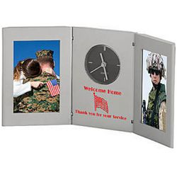 Moment in Time Personalized Photo Clock