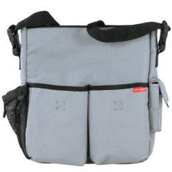 Duo Diaper Bag in Storm Gray