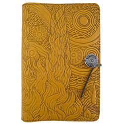 Van Gogh's Sky Embossed Leather Journal