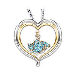 Disney Princess Cinderella's Dream Heart-Shaped Pendant