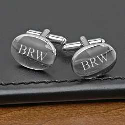 The Polished Man's Oval Cufflinks