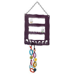 Recycled Metal Jewelry Hanger