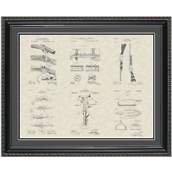Sportsman & Outdoors Framed Patent Art