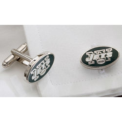New York Jets Cuff Links