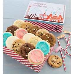 Summer Carnival Assorted Cookie Gift Tin