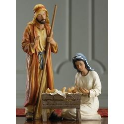 The Holy Family Real Life Nativity Figurines