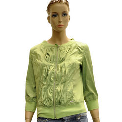 Green Polyester Jacket