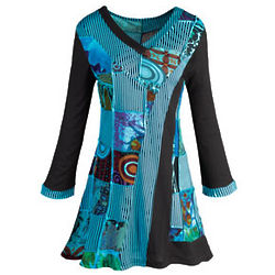 Patchwork Art Tunic